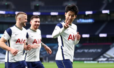 Tottenham beat Southampton in Mason's first match as interim coach