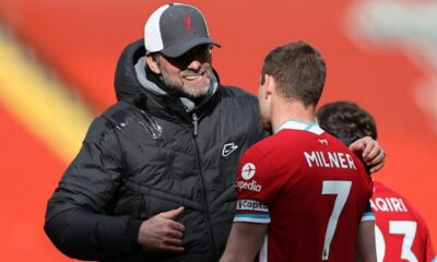 Milner and Klopp against Super League