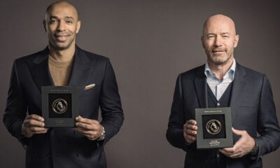 Henry and Shearer named first Premier League Hall of Fame inductees