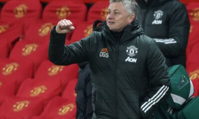 Solskjaer reacts to Europa League quarter-final win