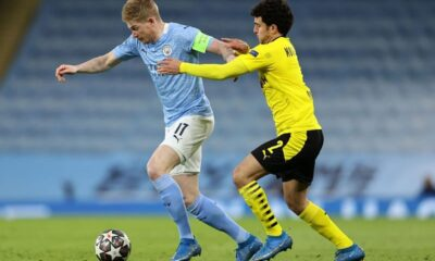 Man City and Dortmund fights to reach semi-finals