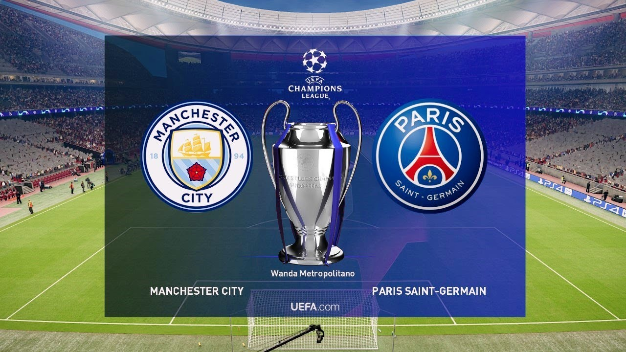 Manchester City defeated PSG in Champions League semi-finals first leg