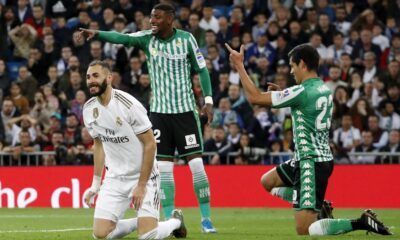 Real Madrid held a goalless draw with Real Betis
