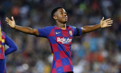 Barcelona youngster Ansu Fati undergo another knee surgery