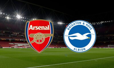 Premier League: Arsenal and Brighton lineup with prediction
