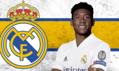 Bayern Munich defender David Alaba join Real Madrid on five year deal