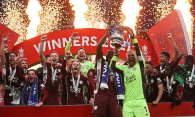 Leicester won first FA Cup in history defeating Chelsea