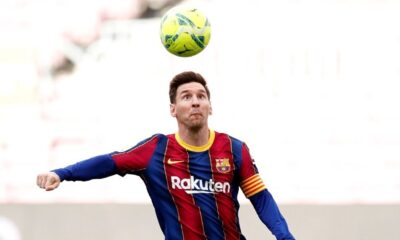 Lionel Messi on early vacation before Barcelona's last match of the season