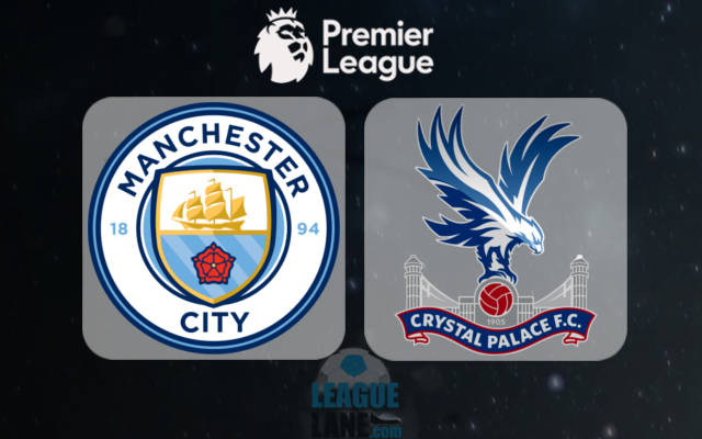 Crystal Palace vs Manchester City match details