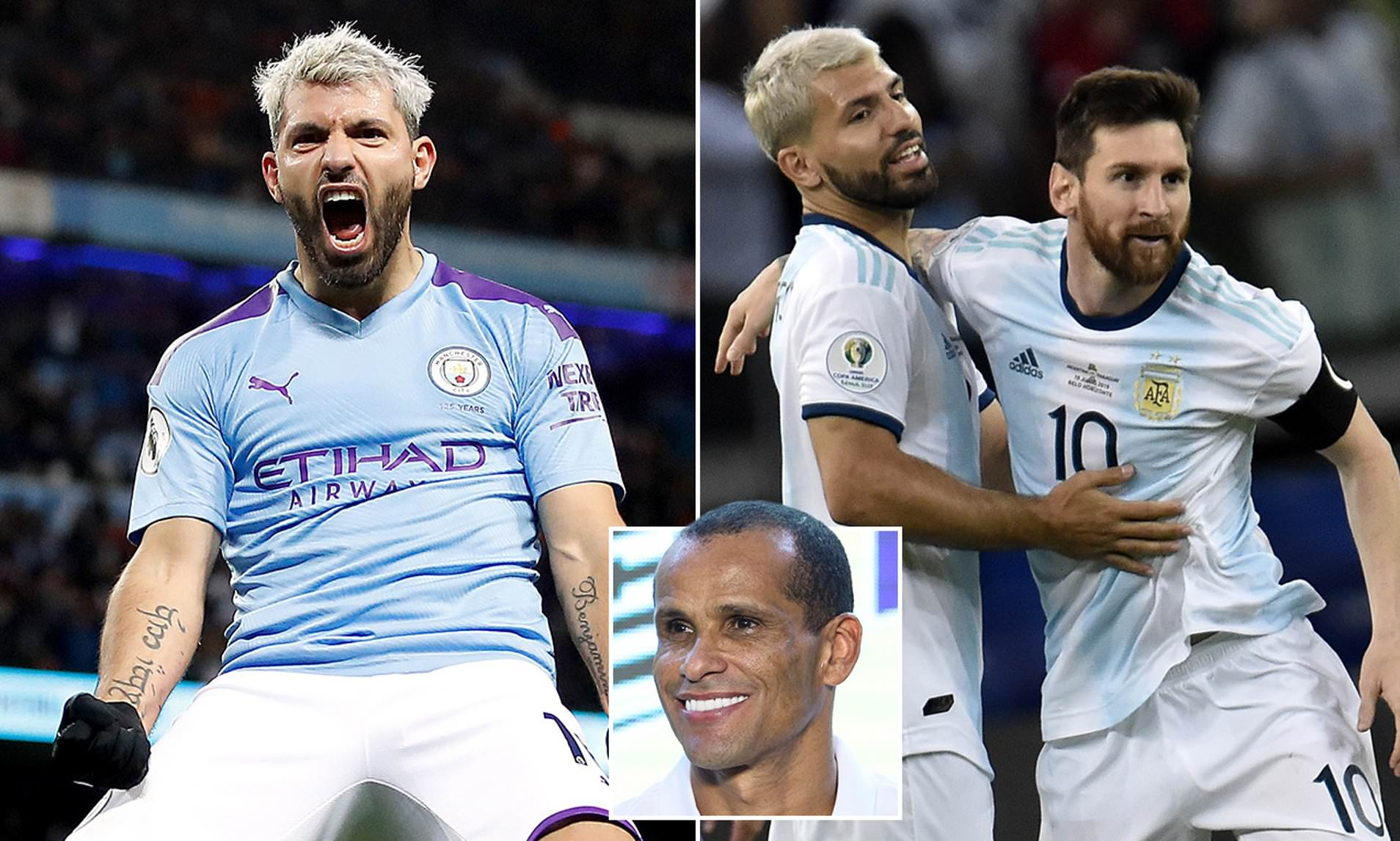 Rivaldo believes Sergio Aguero is great signing for Barcelona