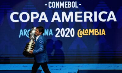 Copa America hosting rights pulled from Argentina 13 days before the competition