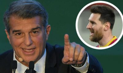 Joan Laporta moderately optimistic about Lionel Messi stay at Barcelona