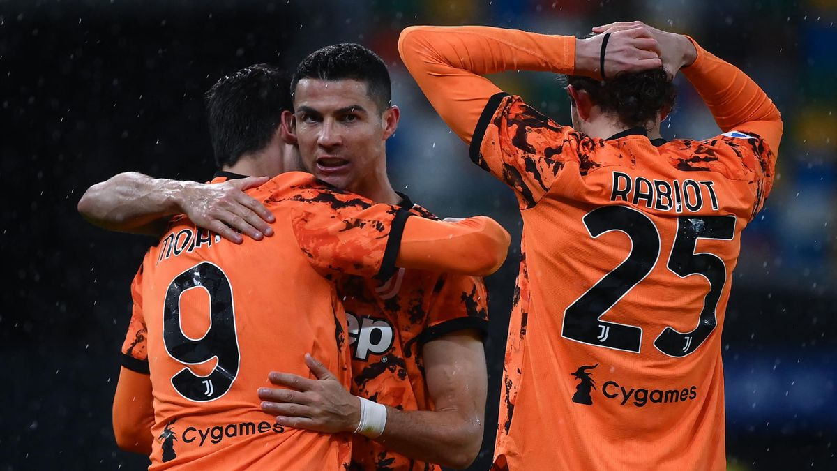 Ronaldo double saved Juventus from defeat to Udinese