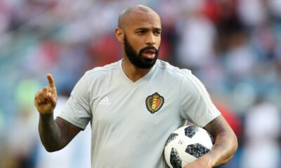 Thierry Henry to assist Belgium coach Roberto Martinez in Euro 2020