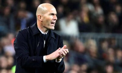 Real Madrid dressing room sense Zinedine Zidane exit by season end