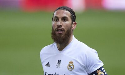 Sergio Ramos left Real Madrid after 16 years