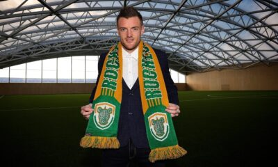 Jamie Vardy joined Rochester Rhinos as co-owner of the US football club
