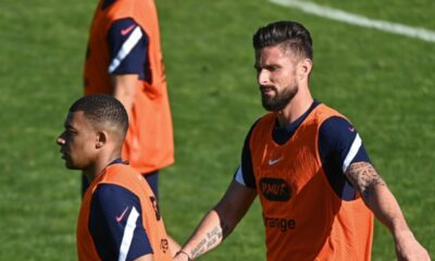 Mbappe hurt by Olivier Giroud's comment
