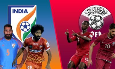 India and Qatar would battle today in world cup qualifiers
