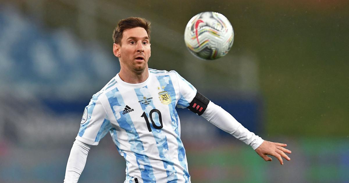 Lionel Messi made three records in Argentina's match against Bolivia