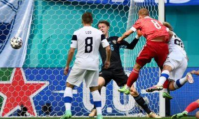 Russia beat Finland in Euro 2020 Group B