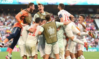 Spain knocked Croatia from the Euro Cup title race