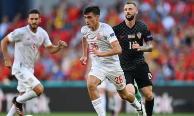 Luis Enrique praised Spain players for victory over Croatia