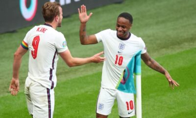 Rice and Sterling praised England team as they win over Germany
