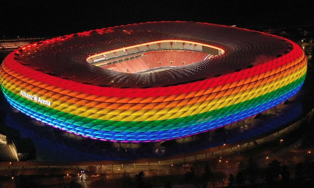UEFA rejected Munich request to light up Allianz Arena in pride colors