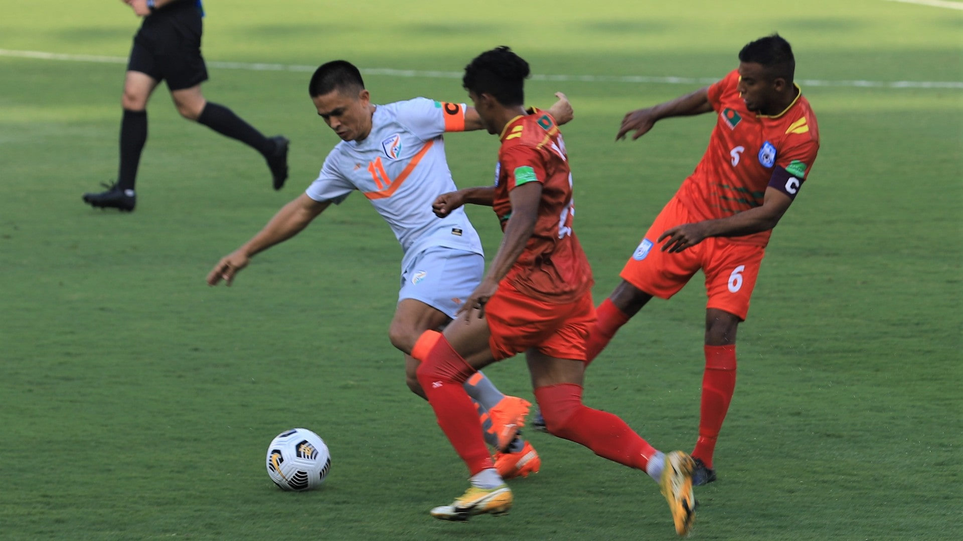 India register first qualifiers win over Bangladesh