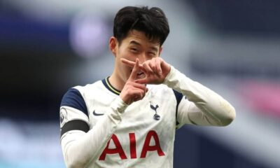 Son Heung- Min signed new contract at Tottenham