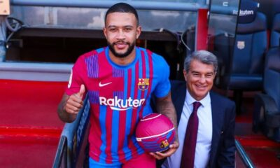 Memphis Depay shared hiss thrill to work alongside Lionel Messi