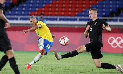 Richardson's hat-trick helped Brazil beat Germany in Tokyo Olympics