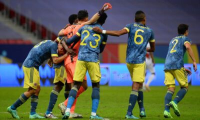 Colombia defeated Peru for third place in Copa America