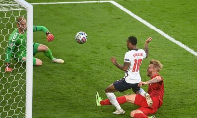 Raheem Sterling on a foul: it was a clear penalty