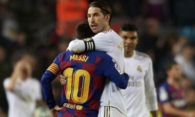 Sergio Ramos comments on new teammate Neymar and Lionel Messi