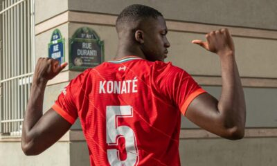 Konate opens up on his move to Liverpool from RB Leipzig