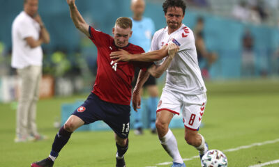 Dolberg and Delaney fired Denmark to Euro 2020 semi-finals