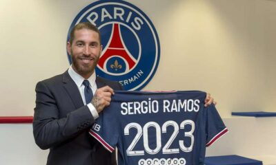 Sergio Ramos officially joined PSG