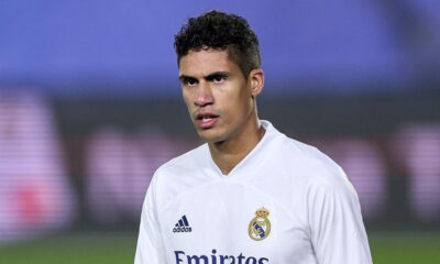 Manchester United confirms deal with Real Madrid for Raphael Varane