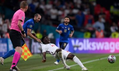 Smalling commented on Italy vs England Euro 2020 final