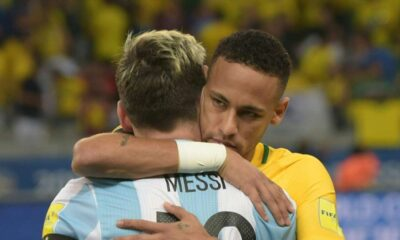 Lionel Messi consoled emotional Neymar after Copa America final