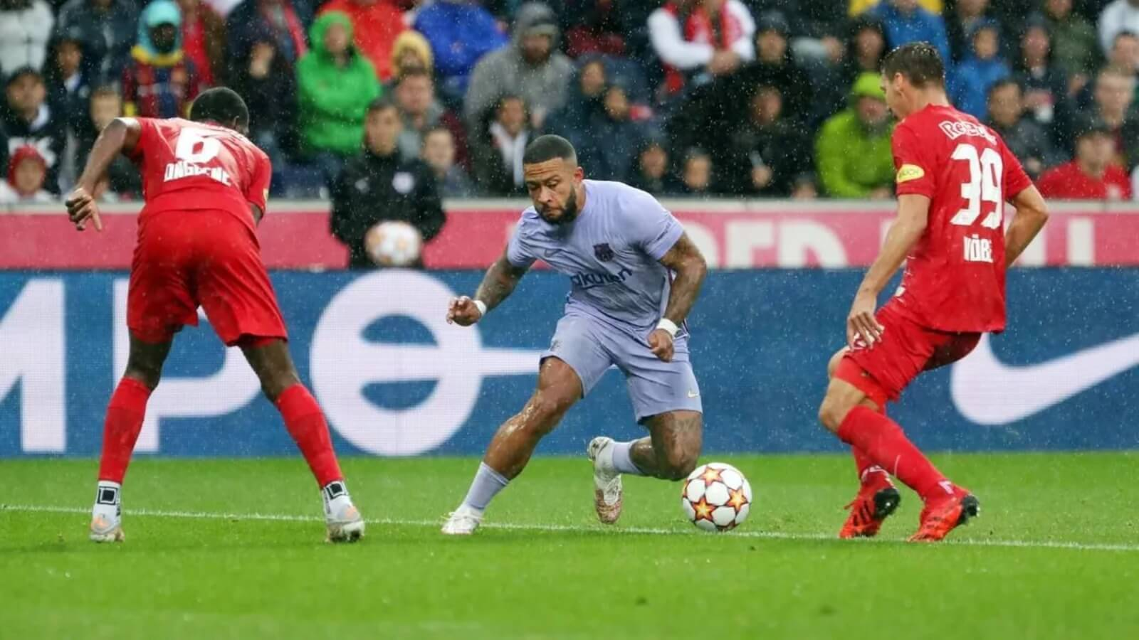 Barcelona lost first match of the season to Salzburg