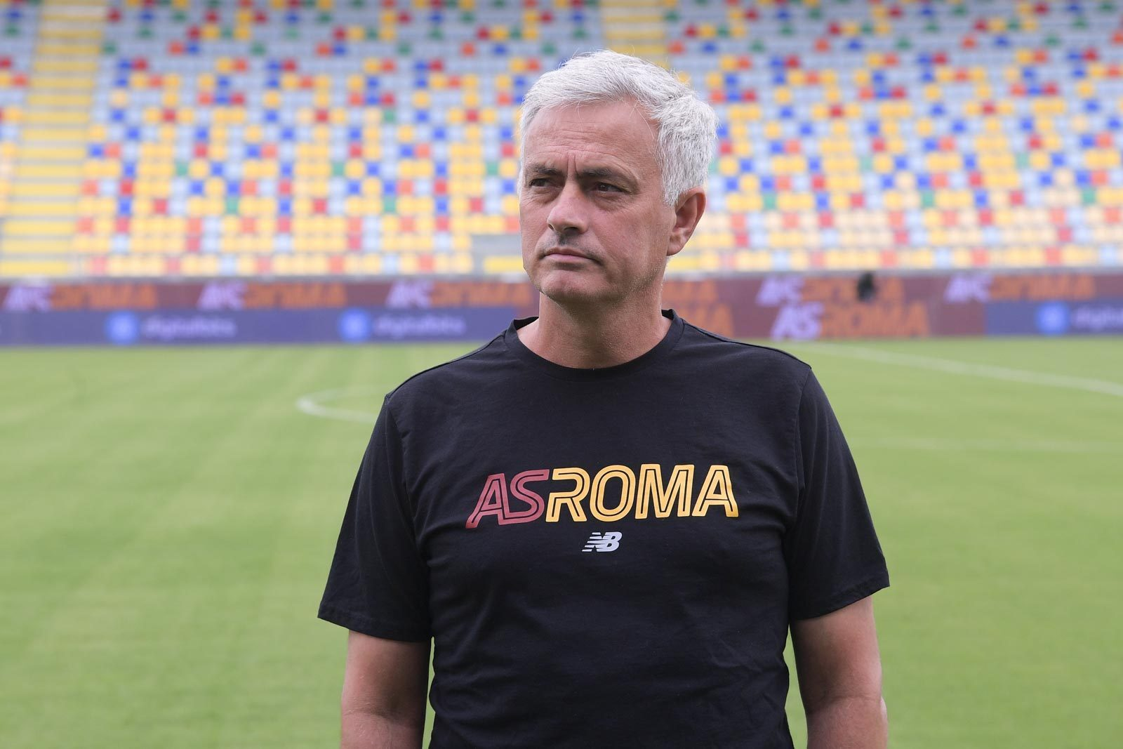 Mourinho hailed Abraham's ambition as he joined Roma