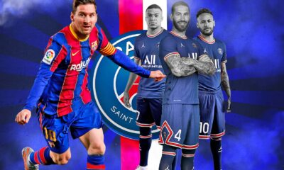 Shinning Summer transfer of PSG - from Lionel Messi to Sergio Ramos
