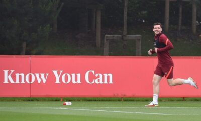 Robertson claims to be fit to play against Chelsea