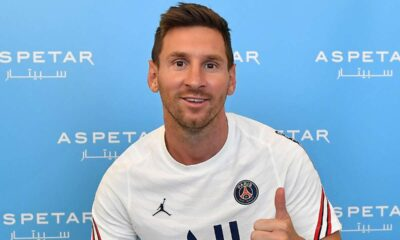 Messi reached Paris to sign new football contract