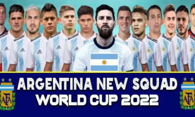 Argentina's squad for World Cup qualifiers announced