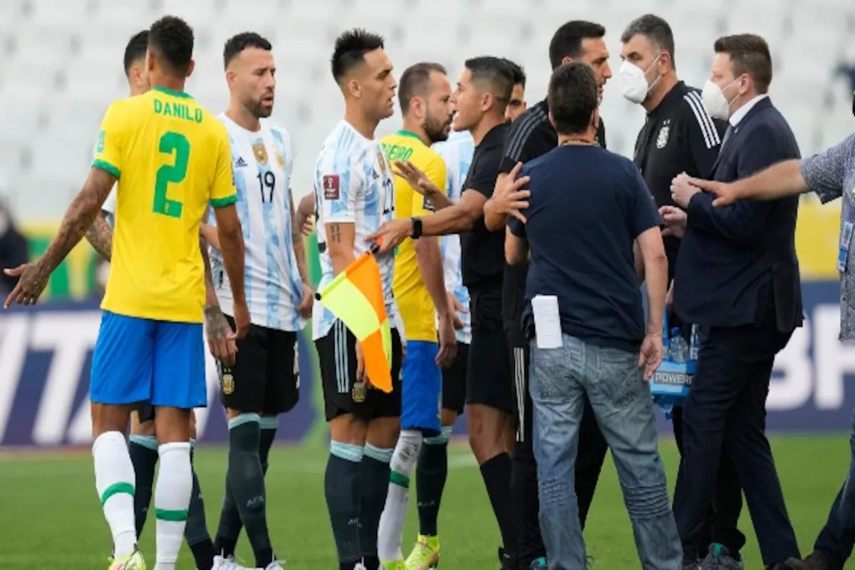 Brazil - Argentina World Cup qualifiers postponed for not obeying quarantine protocols