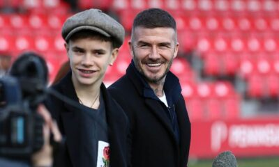 Beckham's son Romeo signed first professional contract